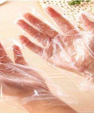Găng tay nilon đục lỗ 3