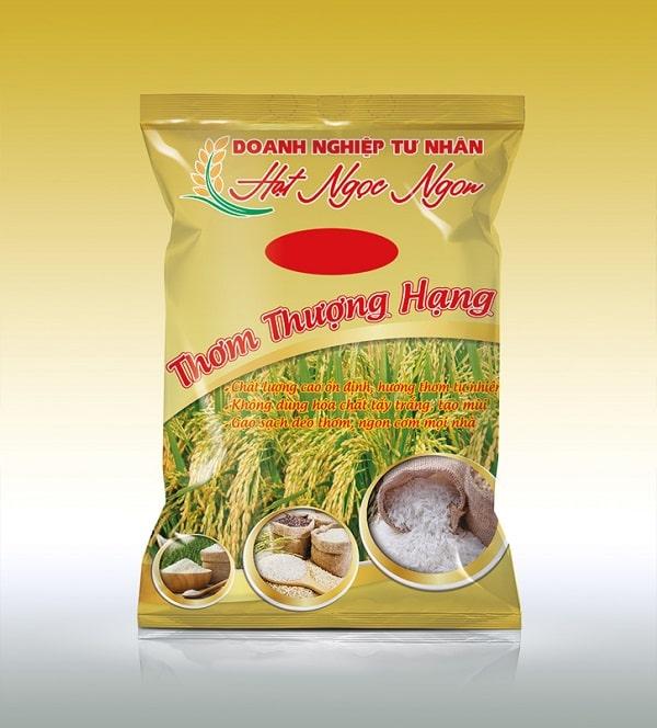 túi- đựng - gạo